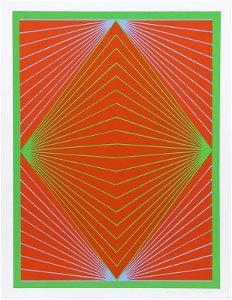Richard Anuszkiewicz, Diamond Chroma, New York Ten