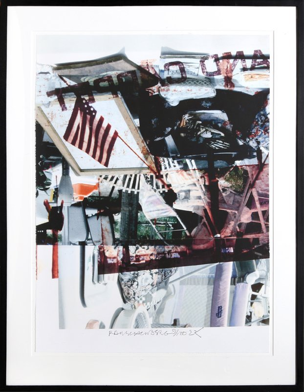 Robert Rauschenberg, Kennedy for Senate, Iris Print