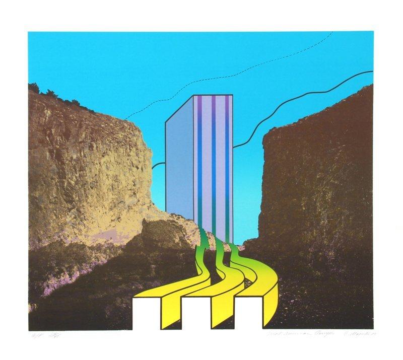 Charles Magistro, Great American Canyon, Serigraph