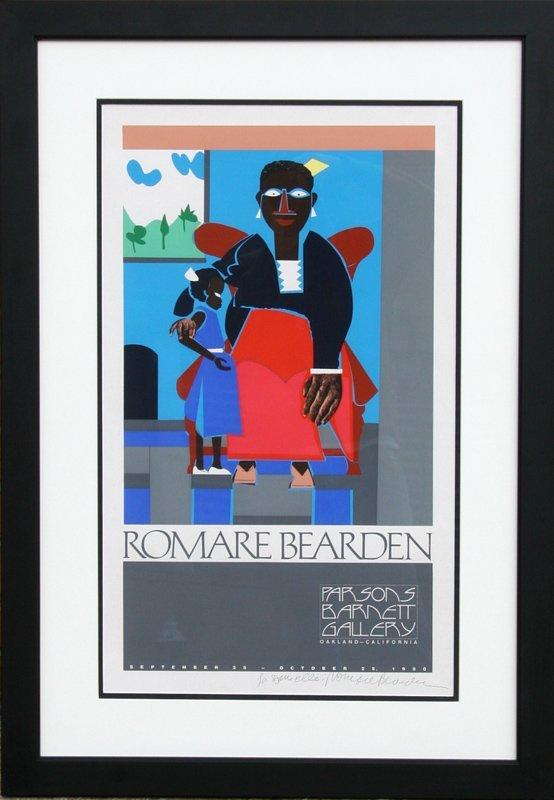 Romare Bearden, Mother and Child, Parsons Barnett