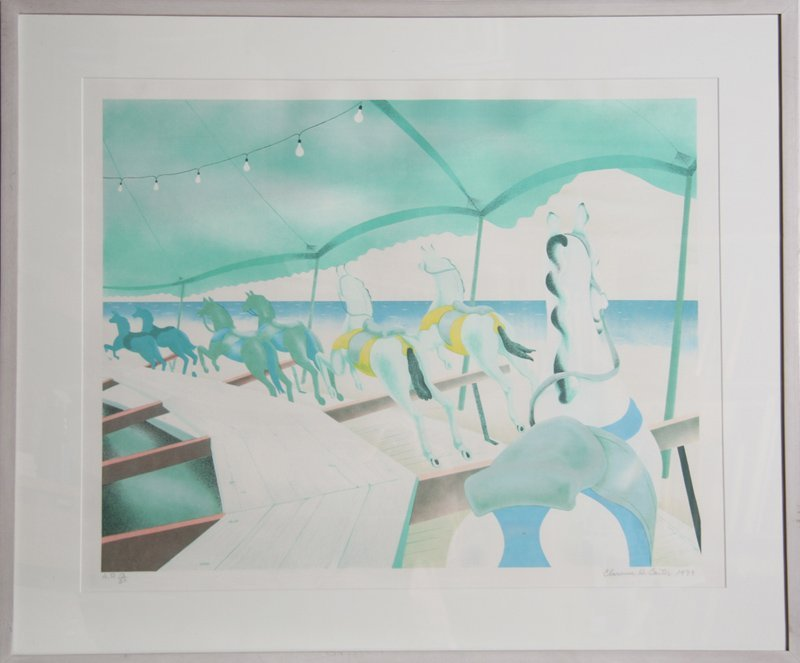 Clarence Holbrook Carter, Carousel by the Sea,