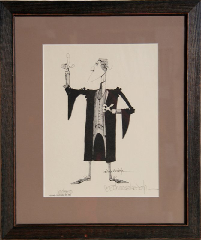 G.R. Cheesebrough, Lawyer 1, Lithograph