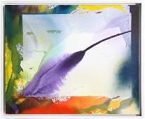 Paul Jenkins, Phenomena West Wind Sounding, Acrylic