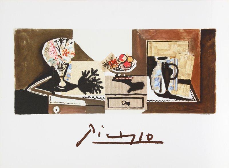 Pablo Picasso, Nature Morte, Lithograph
