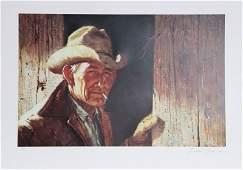 Duane Bryers, Weathered, Lithograph