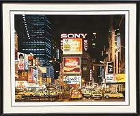 Ken Keeley, Time Square Night, Changing Scene,