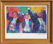 LeRoy Neiman, Three Tenors, Poster