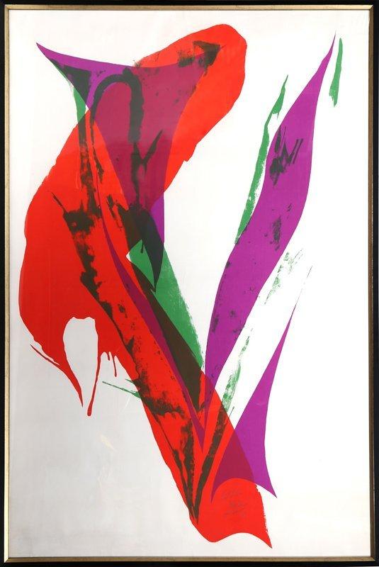 Paul Jenkins, Untitled 5, Silkscreen