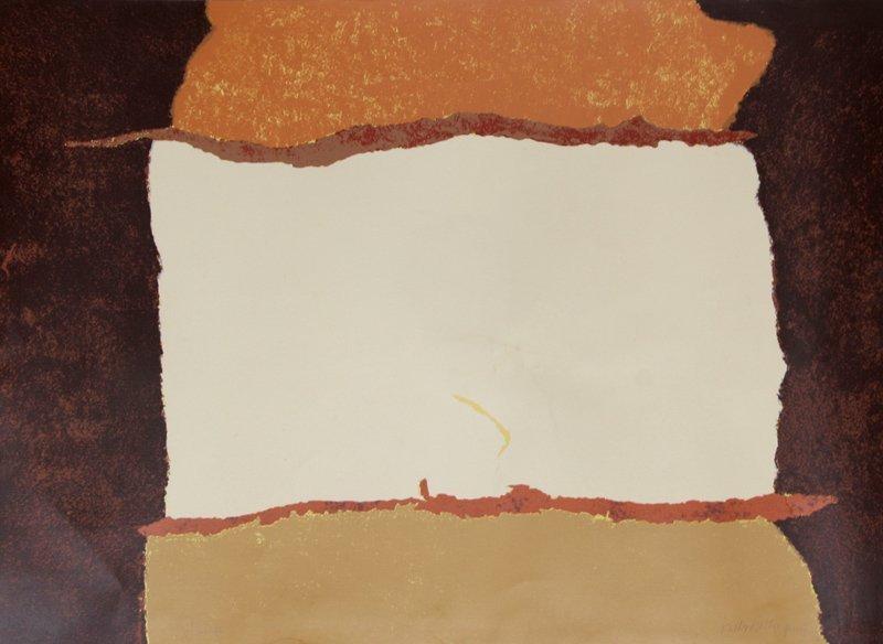 Theodoros Stamos, Untitled VIII, Silkscreen