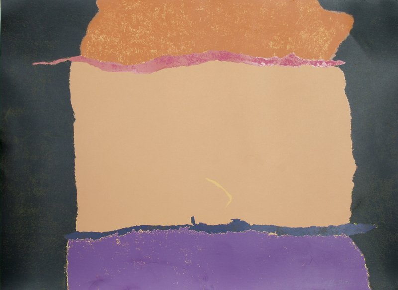 Theodoros Stamos, Untitled VII, Silkscreen