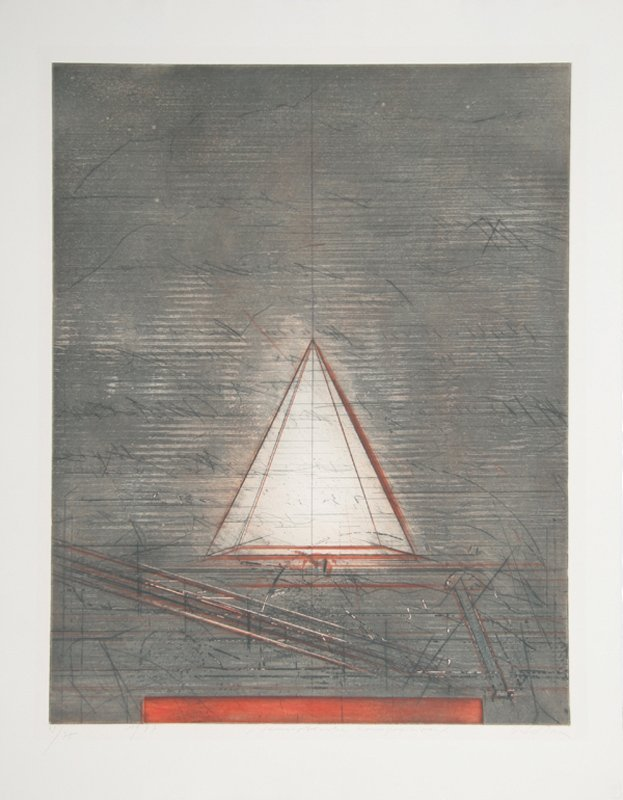Karl Fred Dahmen, Semiotische Komposition, Aquatint
