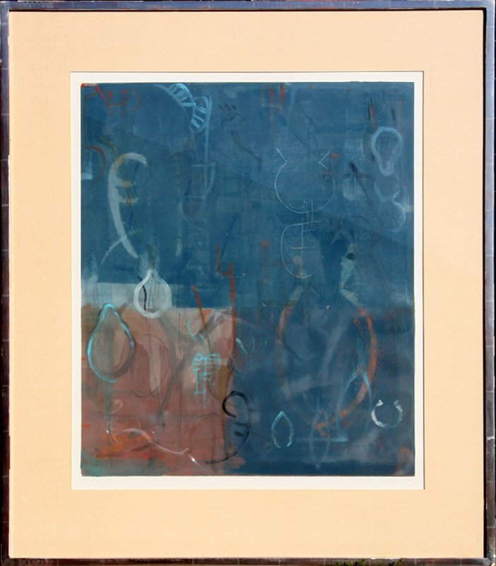 Rory Giller, Simaron III, Monoprint Etching with