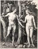 Albrecht Drer, Adam et Eve, Heliogravure