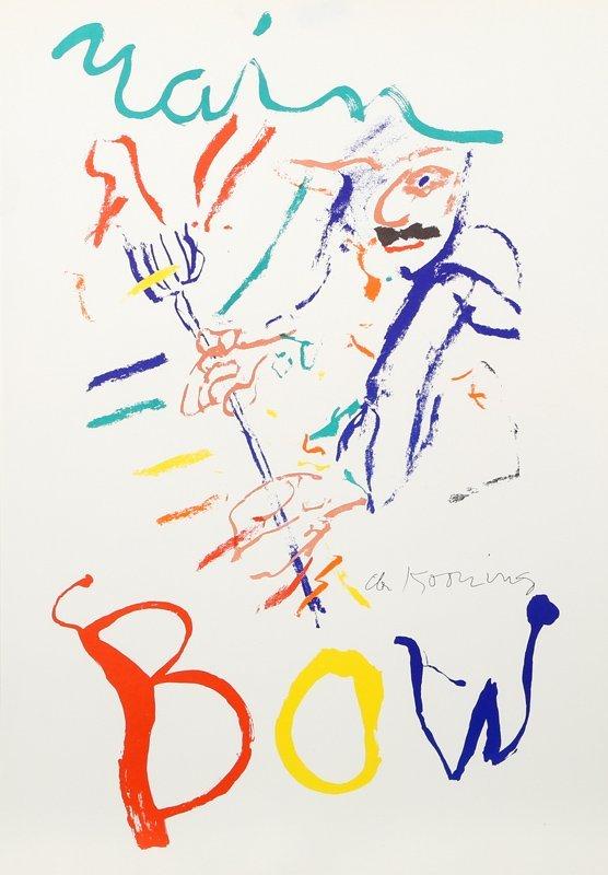 Willem de Kooning, Rainbow: Thelonius Monk, Devil at