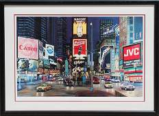 Ken Keeley, Times Square Night (Guys and Dolls),