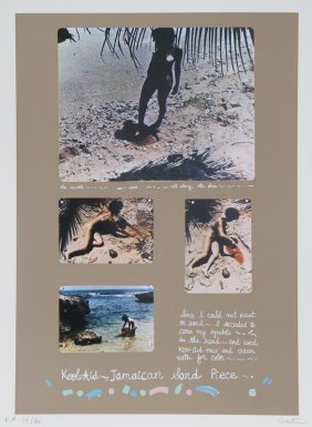 Colette, Kool Aid Jamaican Sand Piece, Lithograph