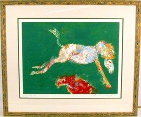 Robert Beauchamp, Green Jump, Lithograph