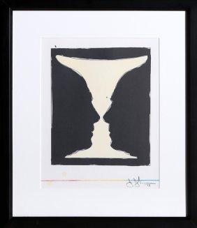 Jasper Johns, Cup 2 Picasso, Lithograph