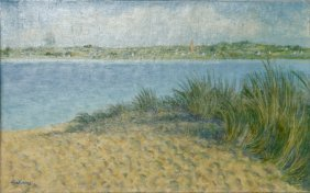 Laurent Marcel Salinas, La Baie De Goulen (832) Oil