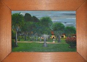 Jose Antonio Velasquez, Plantation, Oil Painting