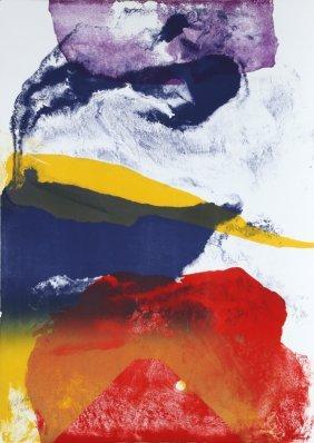 Paul Jenkins, Untitled, Lithograph