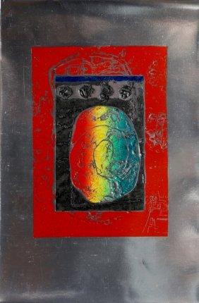 Tomoe Yokoi, Untitled, Mezzotint