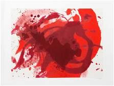 Kazuo Shiraga Passionate Winner Silkscreen