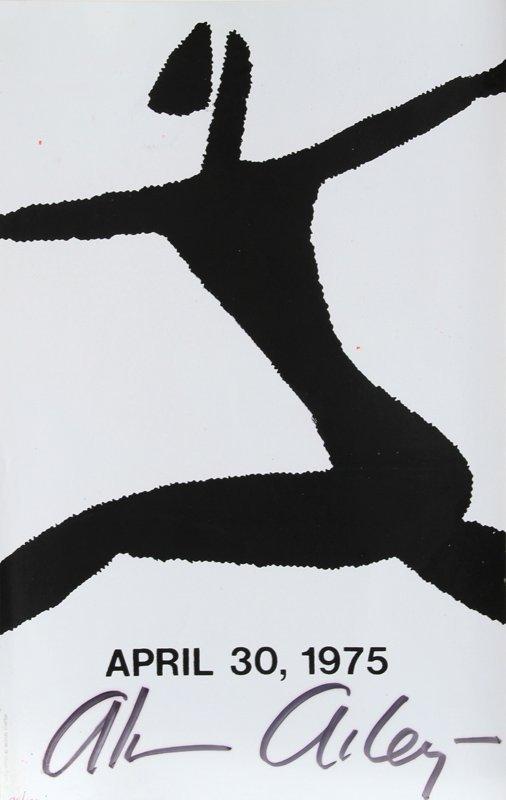 Alvin Ailey, Dancer 6, Silkscreen #