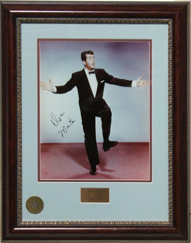 Dean Martin, Autographed Photograph #