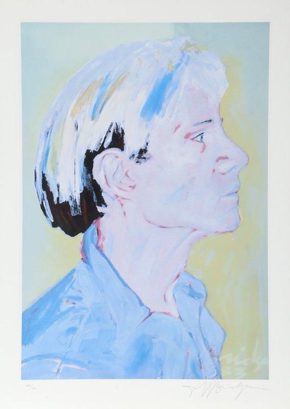 Jeff Bridges, Andy Warhol, Lithograph