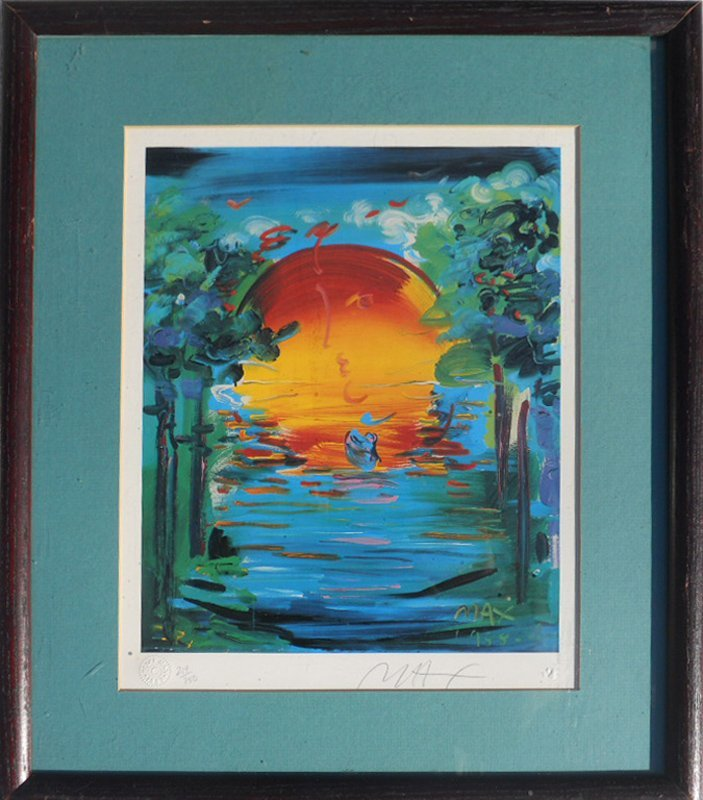 Peter Max, Better World - United Nations, Offset
