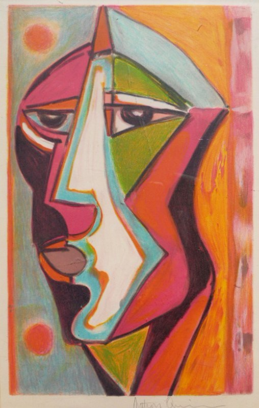 Anthony Quinn, Love My Own, Lithograph