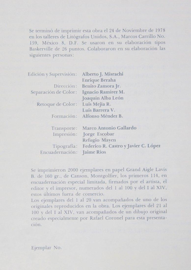 Rafael Coronel, Portfolio of 20 Offset Lithographs in - 3