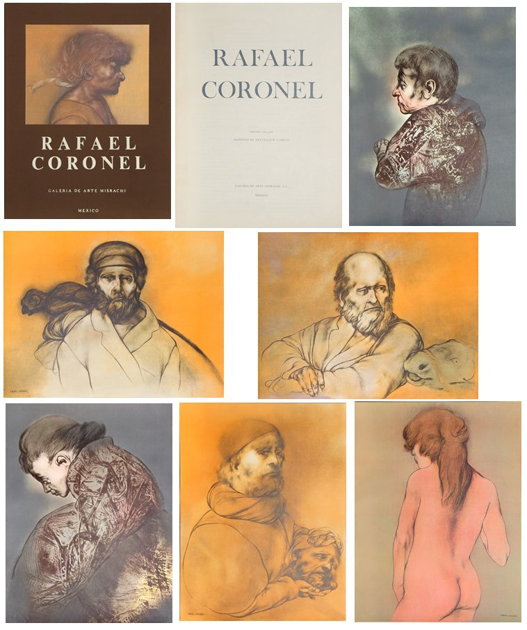 Rafael Coronel, Portfolio of 20 Offset Lithographs in - 4