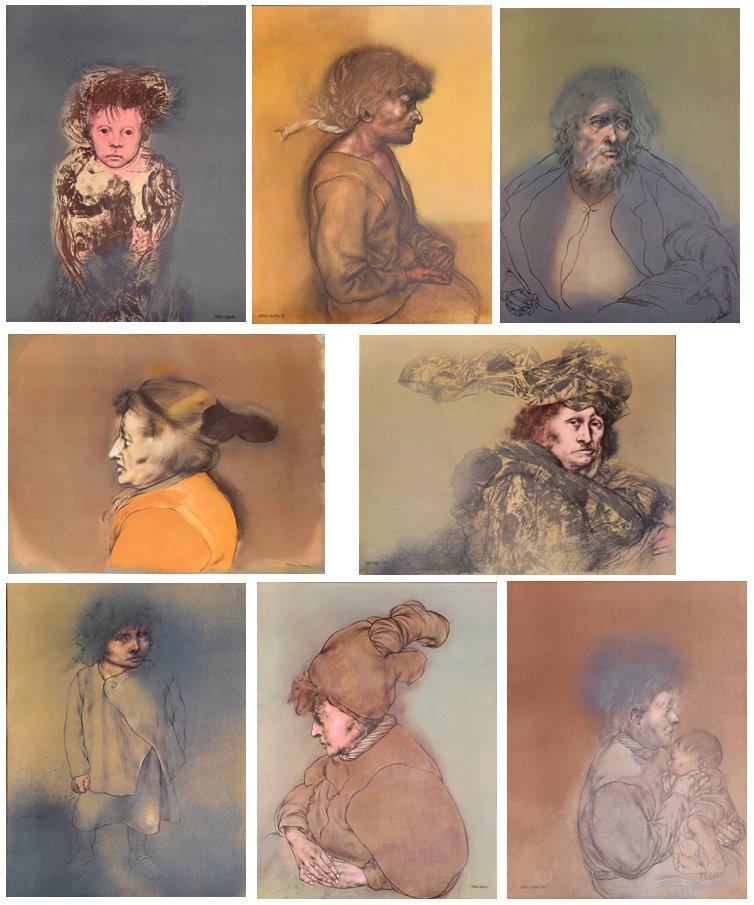 Rafael Coronel, Portfolio of 20 Offset Lithographs in - 5