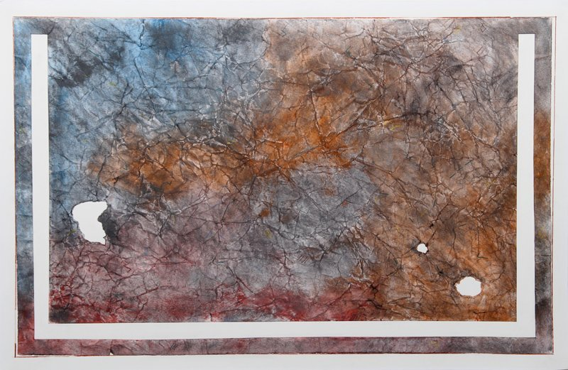 Lawrence Brown, Untitled, Watercolor and Collage