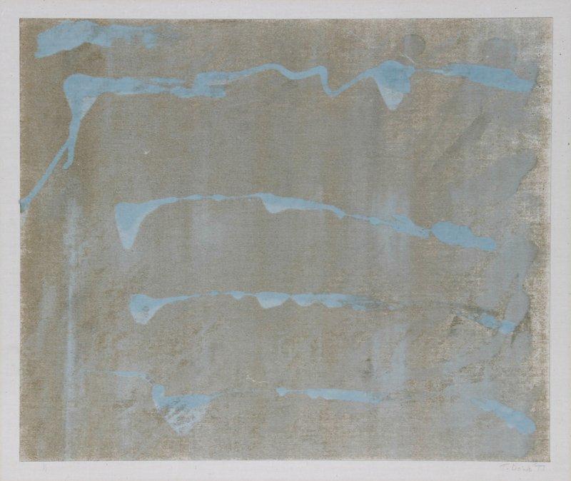 Terry Dowd, No. 190, Monoprint