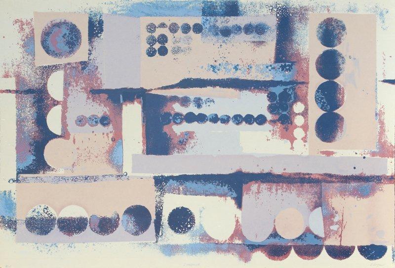 L. Logan, Limestone, Serigraph