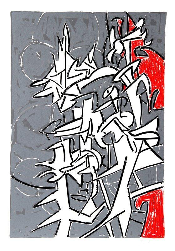 Bruce Porter, Bayard Series #1, Serigraph