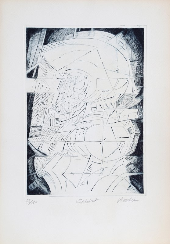 Vasilios Toulis, Soldat from 10/10 Printmakers