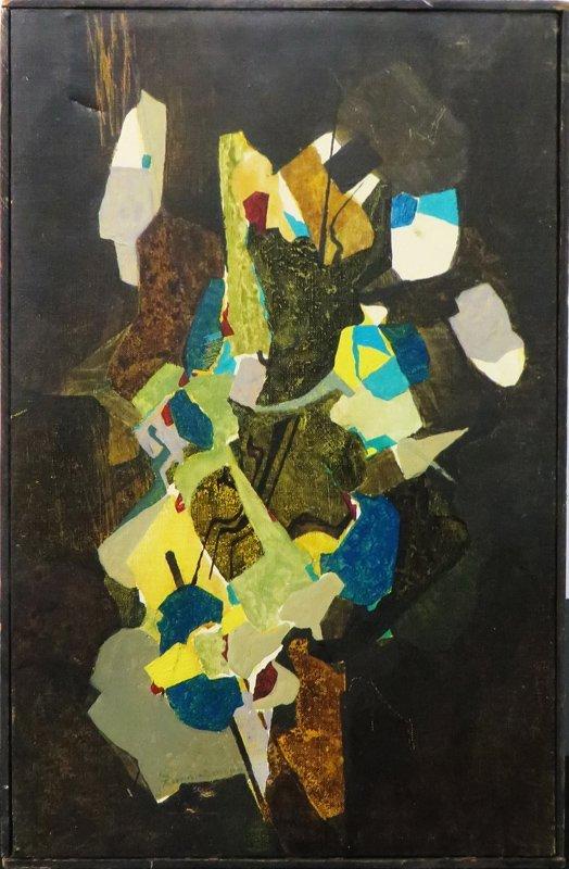 Jacques Zimmermann, Riviere de Brousse, Oil Painting