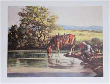Duane Bryers, Along the Way, Lithograph