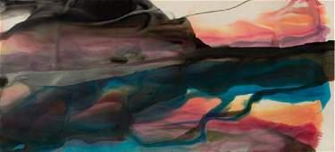 Paul Jenkins, Phenomena Anderson, Watercolor Painting