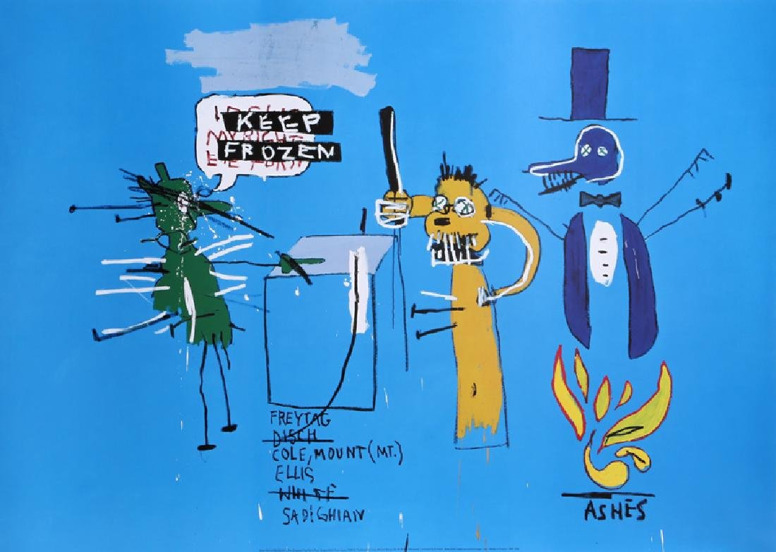 Jean-Michel Basquiat, The Dingoes that park their
