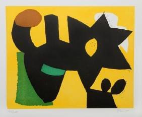 Charlie Hewitt, Untitled - D, Woodblock