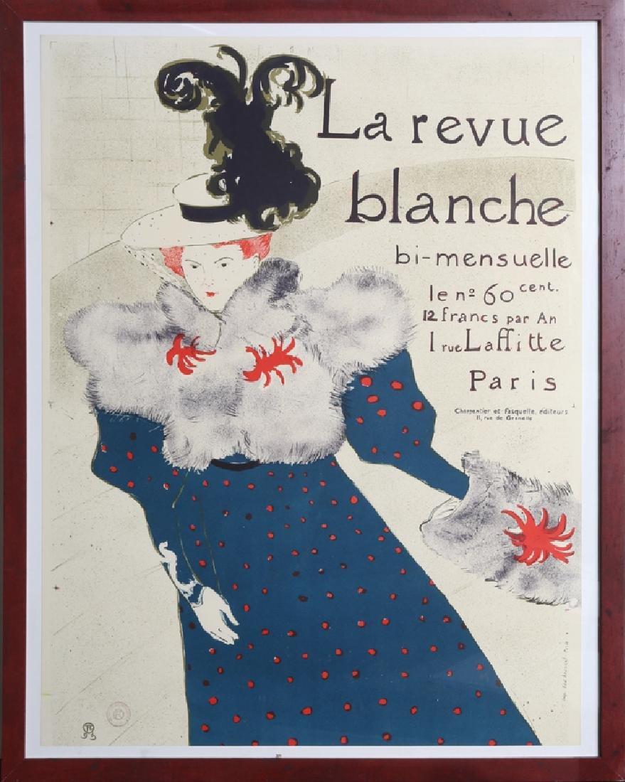 Henri de Toulouse-Lautrec, La Revue Blanche, Lithograph