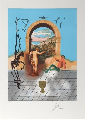 Salvador Dali, Gateway to the New World from the Dali