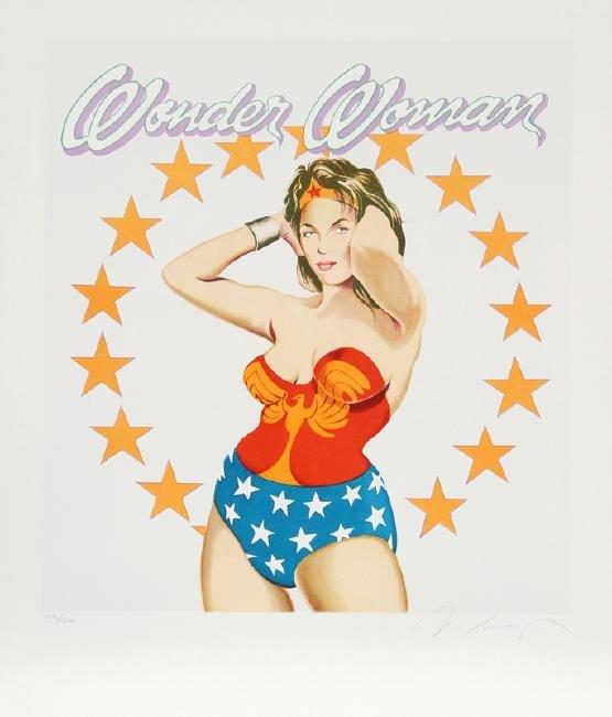 Mel Ramos, Wonder Woman, Lithograph