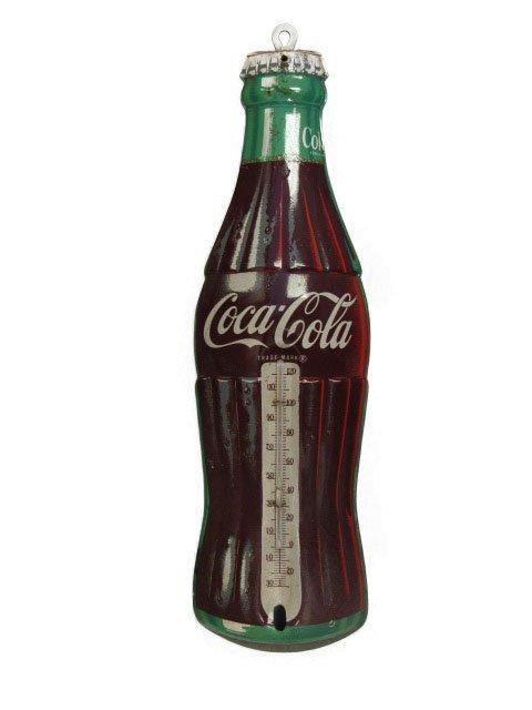 Small Coca-Cola Bottle Shaped Thermometor