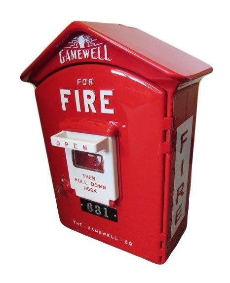 Restored Gamewell Firebox